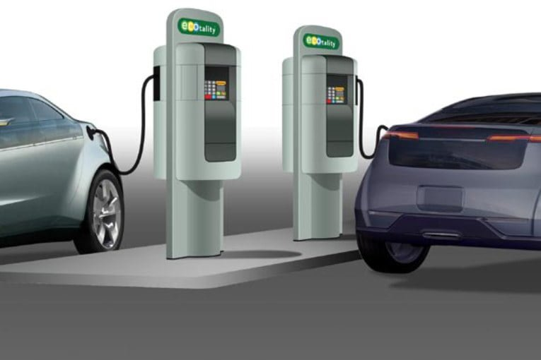 Four centres opened to develop EV charging systems